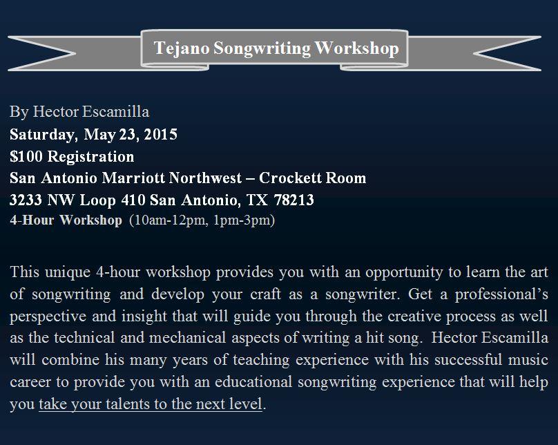 workshop flyer Website